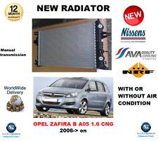 Per OPEL ZAFIRA B A05 1.6 CNG 2006 > Su Nuovo Radiatore Di Raffreddamento Del Motore * Qualità Oe *