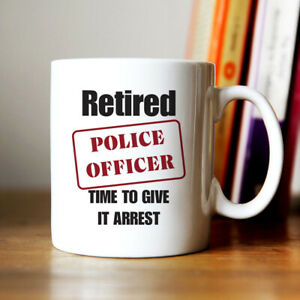 Retired Police officer Cool Coffee Mug present