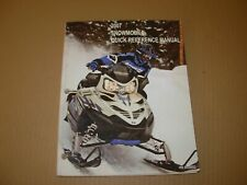2007 Polaris Snowmobile Quick Reference Manual , 9920653