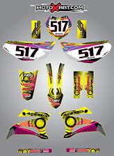 Full Custom Graphic Kit Yamaha TTR  125  - 2008 - 2015 NEON style stickers