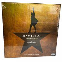 Hamilton An American Musical Original Broadway Cast Recording 4 LP VINYL Record