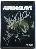 Chris Cornell Audioslave signed dvd group autographed beckett loa soundgarden