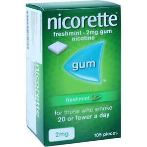 NICORETTE 2 mg freshmint Kaugummi 105 St PZN 703730