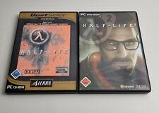 Half-Life Spiel und Half-Life 2 Spiel PC CD/DVD ROM Half Live Valve SIERRA Game