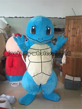 Halloween Squirtle Turtle Pokemon go pikachu Mascot Costume Adult Fancy Dress