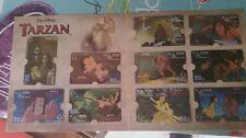 Thailandia 10 carte telefoniche in blister Tarzan   nuove mint Disney