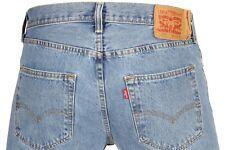 Levi's Men's 501 Original Fit Jeans Straight Leg Button Fly 100% Cotton