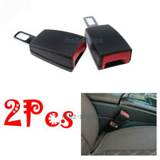 1 Pair Safety Seat Belt Buckle Clip Extender Car Safety Alarm Stopper Universal
