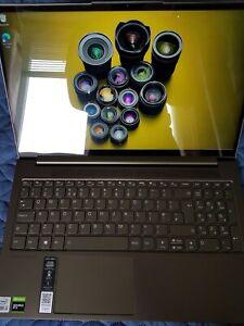 "LENOVO Yoga Creator 7i 15IMH05 15.6"" Laptop Intel Core i5 10TH Gen 512 GB SSD"