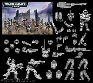 GAMES WORKSHOP Warhammer 40K BITZ Cadian Bits