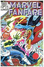 Marvel Fanfare #5 NM/MT