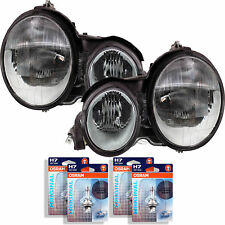 Headlight Set Mercedes E-Class W210 Year 95-99 Incl. Osram H7 +H7