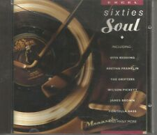RARE SIXTIES SOUL CD EXCEL VGC 1991 WH SMITH EXCL FONTELLA OTIS PERCY JAMES