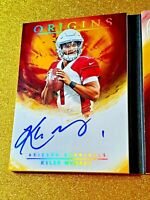 2019 Kyler Murray Panini Rookie Patch Autograph 10 RC On Card Auto RA-KM AMAZING