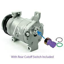 AC Compressor Fits: Silverado Suburban Avalanche Tahoe Express W/ Rear Switch