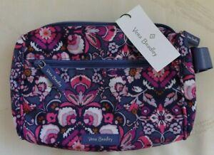 VERA BRADLEY Lighten Up Belt Bag - Magenta Medallion Pink Blue  Fanny Pack - NWT