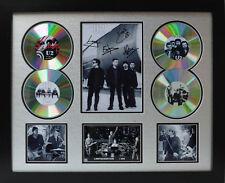 U2 Signed Limited Edition Framed Memorabilia (r)