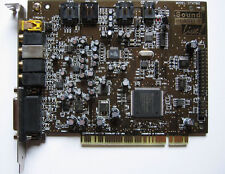 1PC USED LIVE 4.1 sound card CT4760
