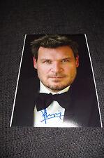 YORICK VAN WAGENINGEN signed Autogramm auf 20x30 cm Bild InPerson LOOK