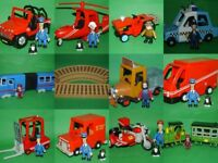 Postman Pat SDS Vehicles_Van_Bike_Helicopter_Lorry_Police Car_Ted Glenn's Truck_