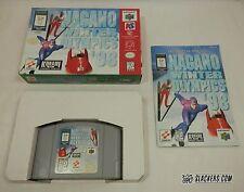 Nagano Winter Olympics '98 (Nintendo 64 1998) COMPLETE IN BOX! Skiing SNOWBOARD