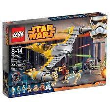 75092 NABOO STARFIGHTER star wars lego NEW legos set ANAKIN DROIDS R2-D2 OBI-WAN