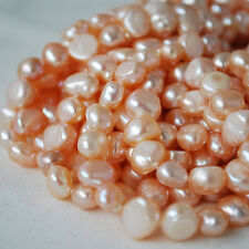 """16"""" Strand Natural Freshwater Pearl Beads Nuggets 7 - 9 mm Grade A"""