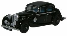 Oxford 76JSS002 Jaguar SS 2.5 Saloon Black 1/76th Scale New – T48 Post W