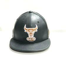 NEW ERA CAP: CHICAGO BULL 9FIFTY SNAPBACK FLAT BRIM COLOR BLACK