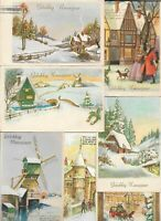 Vintage Christmas And Happy New Year Postcard Lot of 50      01.18
