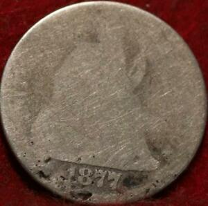 1877-CC Carson City Mint Silver Seated Liberty Dime