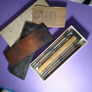 Chasing tools set Repousse tools Chasing punches Stamping Metal Vintage USSR....
