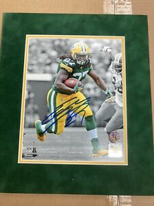 Eddie Lacy Autograph 8x10 Matted Photo Green Bay Packers