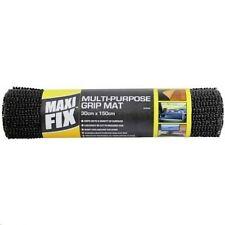 NON SLIP MAT 30 x 150cm ANTI SLIP CARPET RUG GRIPPER CAR GRIP DRAW LINER BLACK