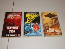 BUCK ROGERS THAT MAN ON BETA REBELLION 2456 FIRST POWER PLAY 3 PAPERBACK BOOKS