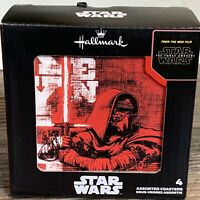 Hallmark New Star Wars: The Force Awakens Characters Coaster Set of 4 Kitchen