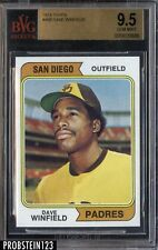 "1974 Topps #456 Dave Winfield Padres RC Rookie HOF BVG 9.5 "" SUPER HIGH END """