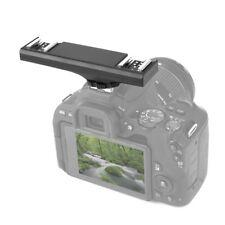 Dual Hot Shoe Flash Speedlite Light Bracket Splitter for Canon Dslr Camcorder ~@