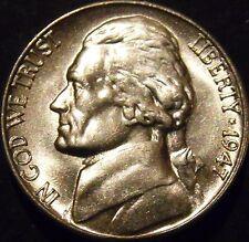 1947-S Jefferson Nickel Choice/Gem BU Uncirculated