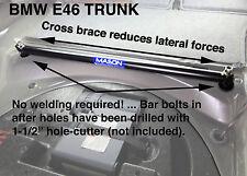 MASONENGINEERING.net E46 OR E36 REAR FLOOR STRUT BAR SUBFRAME SUPPORT  TUBE