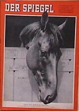 SPIEGEL 5/1957 Italiens Wunderhengst Ribot,das beste Vollblut-Rennpferd der Welt