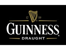 Guinness Draught Beer Flag 90x150cm 3x5 Foot Banner Pub Bar Advertising Guiness