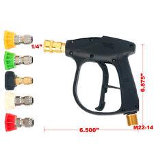 4350PSI Max| High Pressure Washer Gun + 5 Water Washer Nozzle Power Wash GMP 3.0