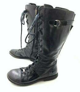 Angulus Damen Stiefel Stiefelette Boots Schwarz Gr. 39 (UK 6)