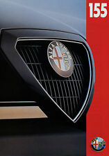 Prospectus Alfa romeo 155 1993 autoprospekt 8 pages brochure voiture voitures brochure