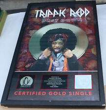 Trippie Red Gold Bust Down RIAA Certified Record Award Plaque Deadbeat LAST ONE