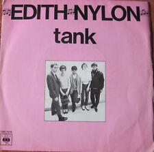 edith nylon tank 45 tours 2 titres punk rock 1979 cbs 7435