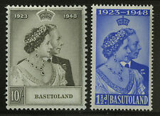 Basutoland   1948    Scott #39-40   Mint  Lightly Hinged Set