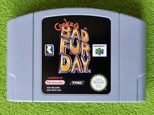 Conker's Bad Fur Day - Nintendo 64 PAL NUS-NFUP-EUR
