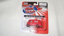 Mini Metals/Cmw Ho scale #30386 International Metro Van Swift's Meats Nib